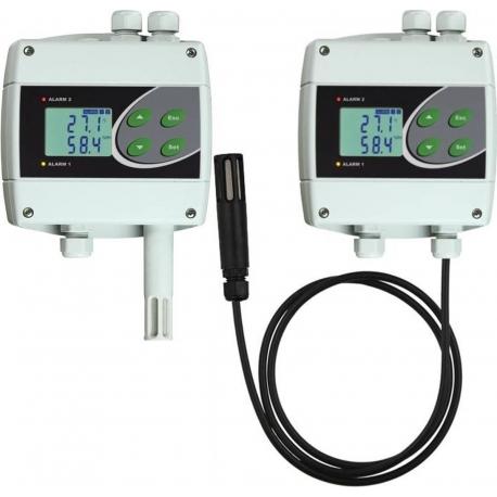 H3020, H3021, H3060, H3061 Regulátory teploty, vlhkosti s výstupným relé