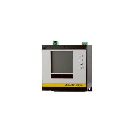 VEGAMET 381 Jednokanálová vyhodnocovacia a zobrazovacia jednotka