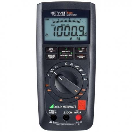 METRAHIT TECH  digitálny multimeter