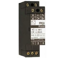 PPN24, PPN230 Prevodník Pt100, odporu s pomocným napájaním